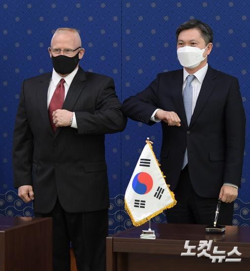 한미 방위비분담금특별협정 서명식