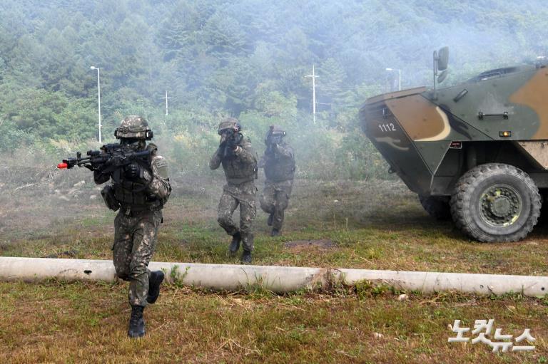 육군,  Army TIGER 4.0 전투실험 현장 공개