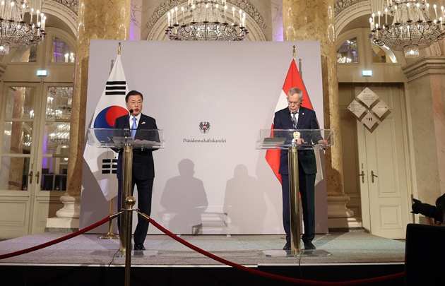 韓-오스트리아 '전략적 동반자관계' 격상 목록 이미지