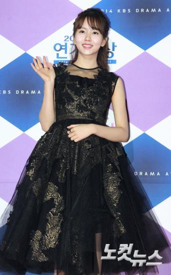 김소현,'금빛 레이스로 포인트 줬어요'