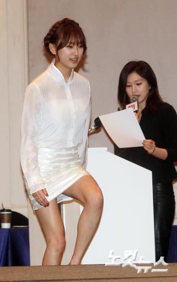 류혜영,'보일듯말듯 아찔한 입장'