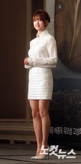 류혜영,'올화이트 패션으로 청순&섹시'