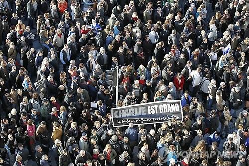 프랑스서 파리테러 규탄 시위…70만명 이상 참가
