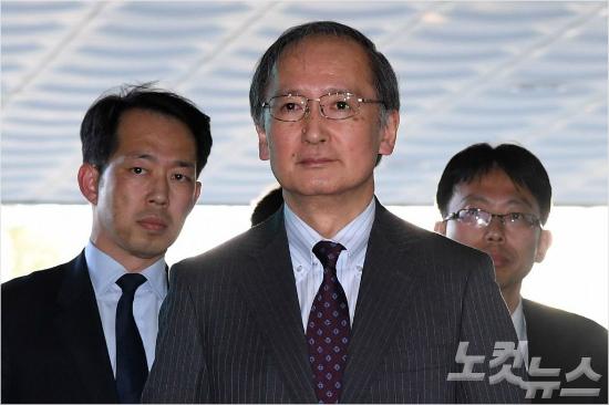 """나가미네 日대사, """"북한문제 당면과제···한일 협력해야""""(종합)"""