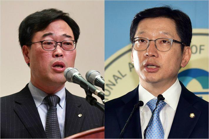 김기식·김경수 후폭풍에 與 '긴장' vs 野 '미소'