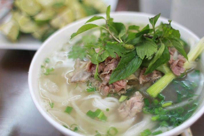하노이에서 가장 맛있는 쌀국수집 '퍼짜쭈엔 (PHO GIA TRUYEN)'
