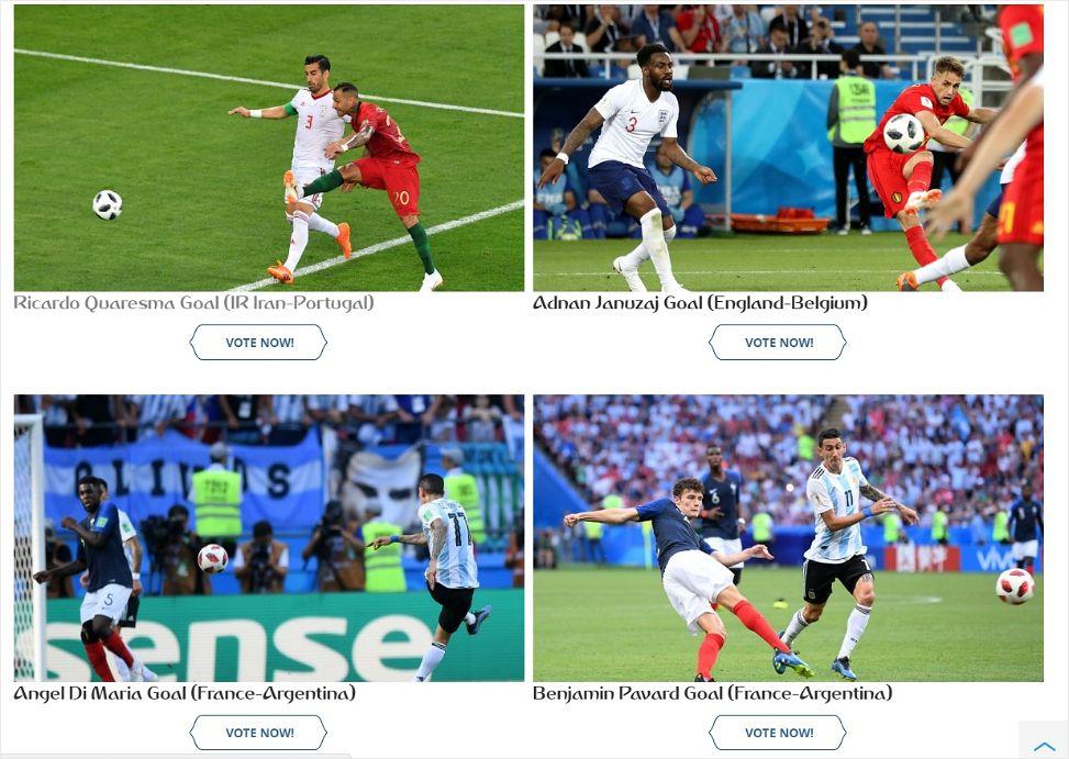 '호날두 프리킥? 벨기에 역습?' 러시아 월드컵 최고의 골 후보