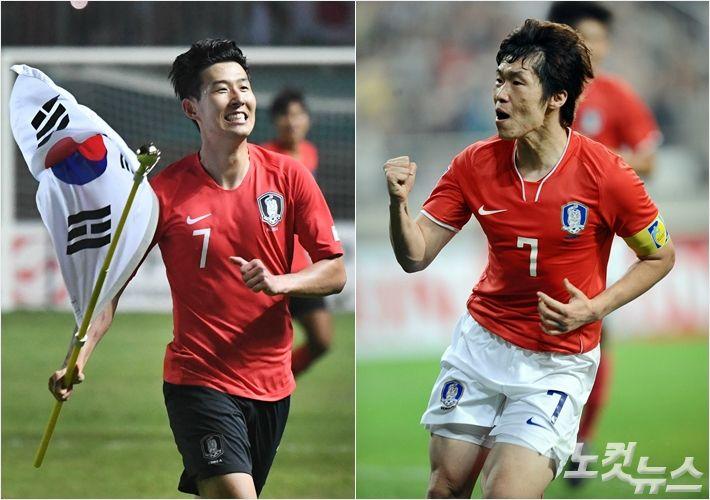 2018년의 손흥민, 2011년의 박지성과 닮았다