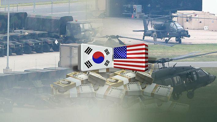 美, 방위비분담금 '10억달러·1년유효' 통첩