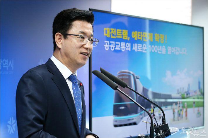 대전 트램 2025년 개통···정부 예타 면제