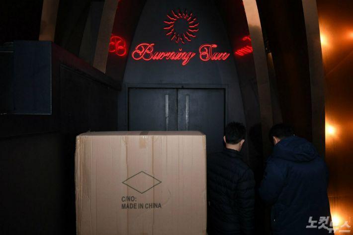 복원된 CCTV…'버닝썬' 클럽대표 모발 국과수 감정