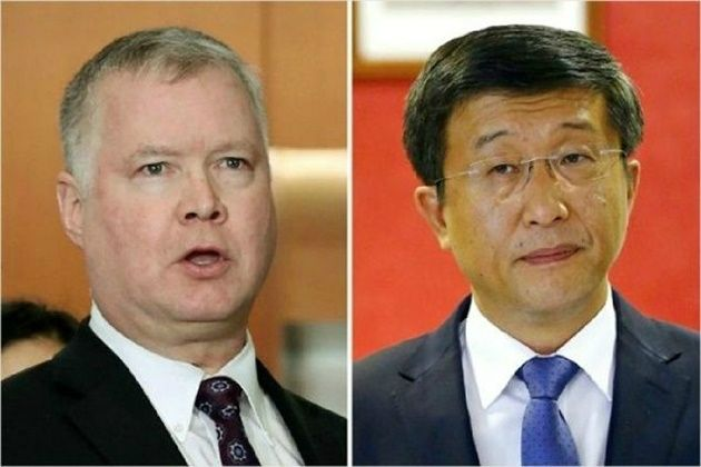美 비건 대표, 하노이 도착…北 김혁철과 '북미정상회담 의제 협상' 착수