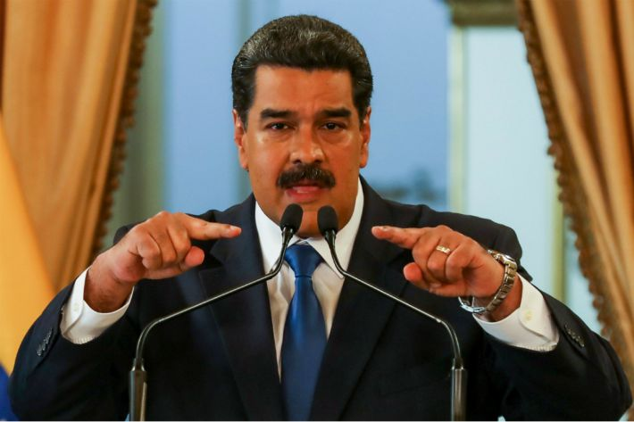 """베네수엘라 마두로 """"체포하겠다""""vs과이도 """"귀국하겠다"""""""