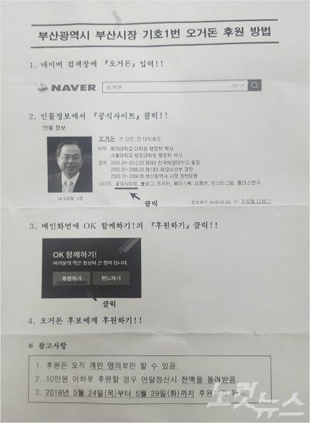 선관위, 부산항운노조 쪼개기 정치후원금 조사