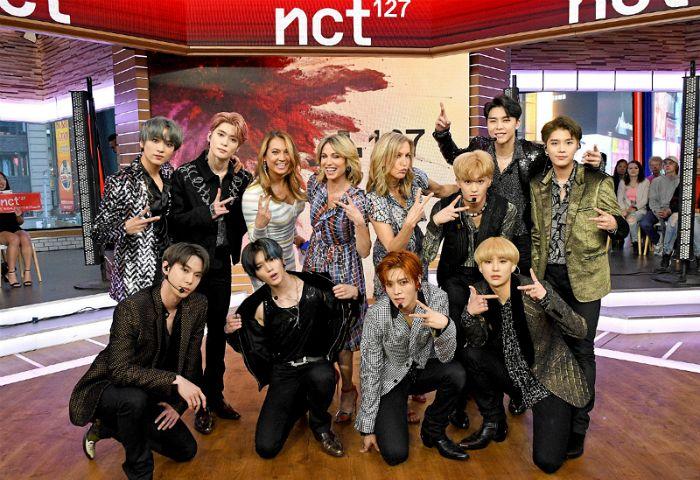 NCT 127 美ABC '굿모닝 아메리카'서 '슈퍼휴먼' 첫 공개