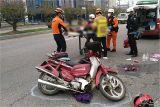 70대 부부 탄 오토바이 25t 화물차에 치여…아내 사망