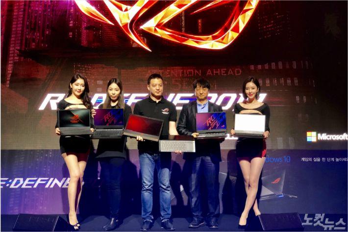 에이수스, 13년 역량 신형 ROG 게이밍북 대거 출시