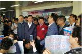 진영 행정안전부 장관, 24일 '포항 지진 이재민 구호소' 찾아