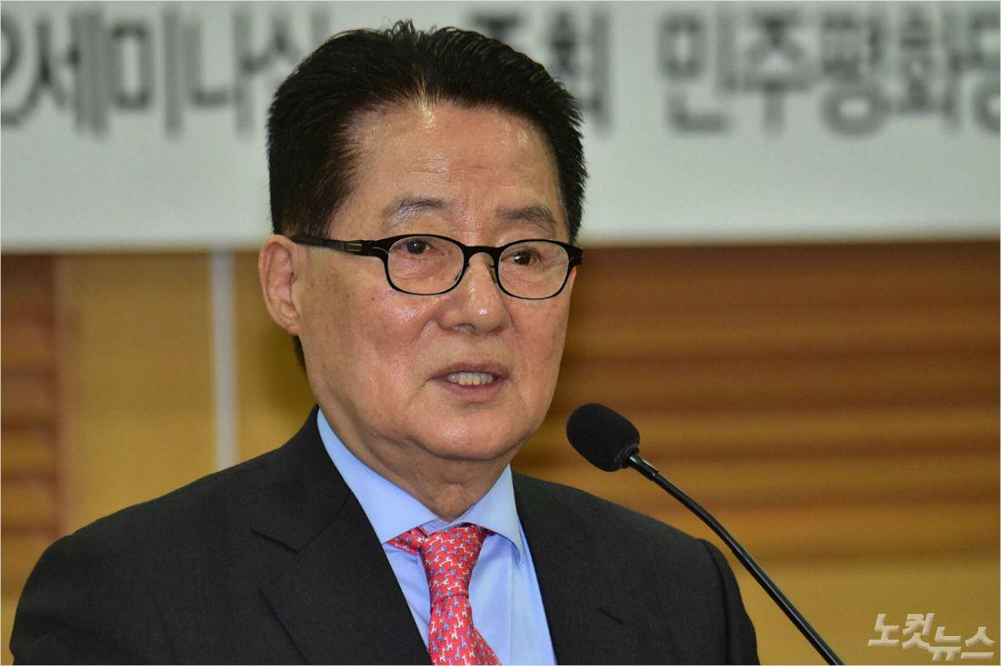 """박지원 """"황교안, 대통령에 대한 최소한의 예의 지켰어야"""""""