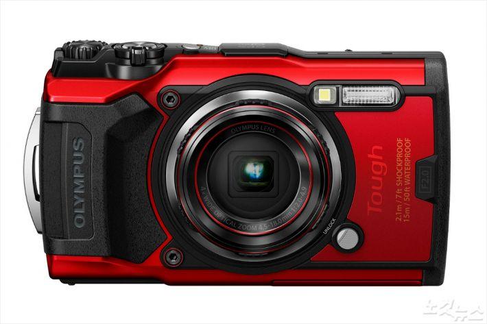 올림푸스, 아웃도어 카메라 TG-6 공개…7월 출시
