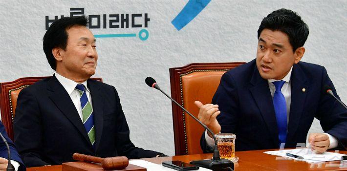 """손학규, 반대파 안건 거부…오신환 """"반민주적 운영"""""""