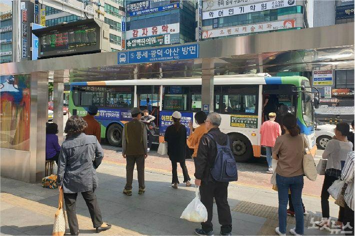 충남버스파업 협상 열쇠는 충남도…사측 재정 지원 요청