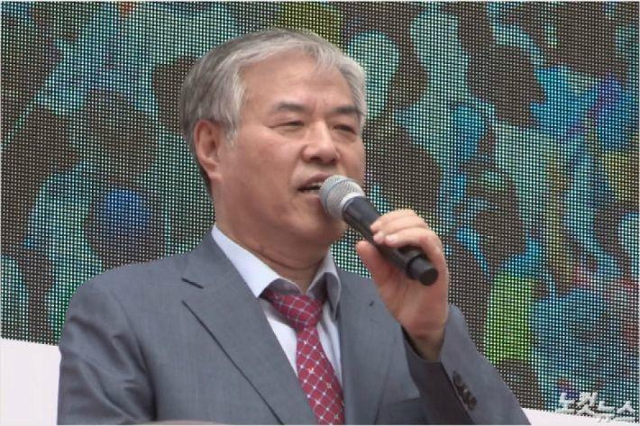 """""""문 대통령 하야해야"""" 한기총 전광훈 회장 발언 파문"""