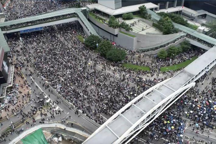 홍콩 16일 또다시 100만 '검은 물결' 예고…中 초긴장