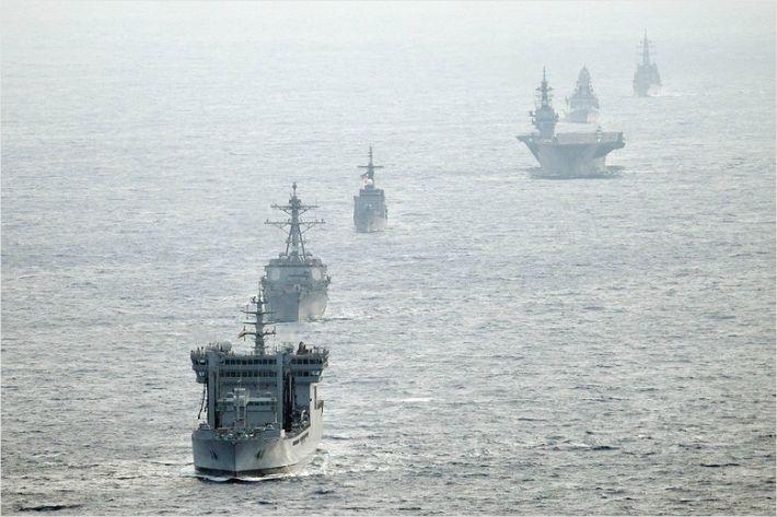 미국, 한국에 남중국해로 군함 보내달라 요청