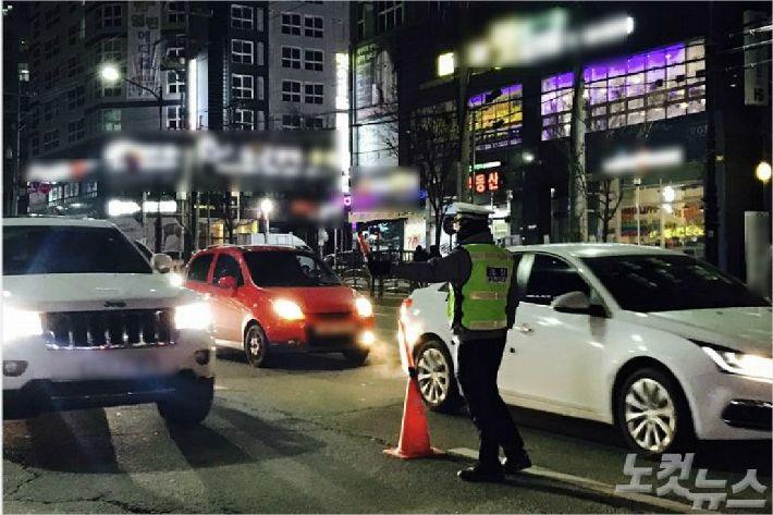 충북 제2윤창호법 시행 첫 일제단속…10명 적발