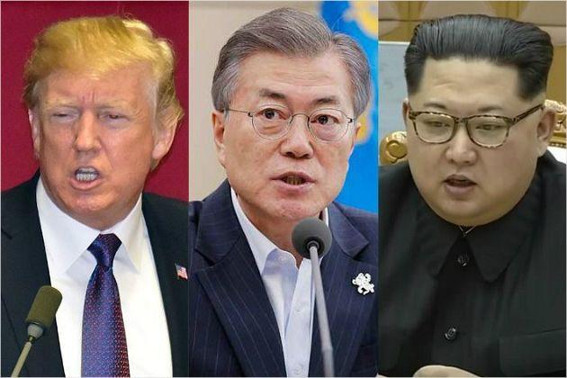 남북미 정상 집결, 사상초유 판문점 'DMZ 이벤트' 열리나