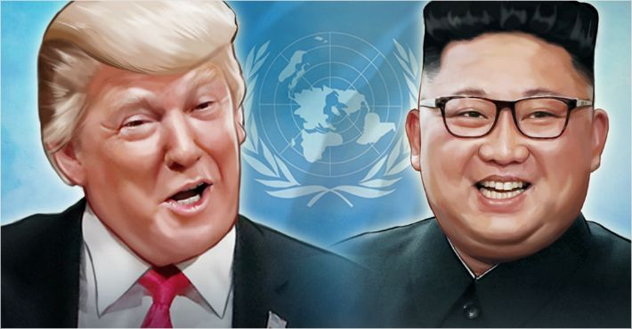 """트럼프 """"DMZ서 김정은 만날 수도…월경도 문제 없어"""""""