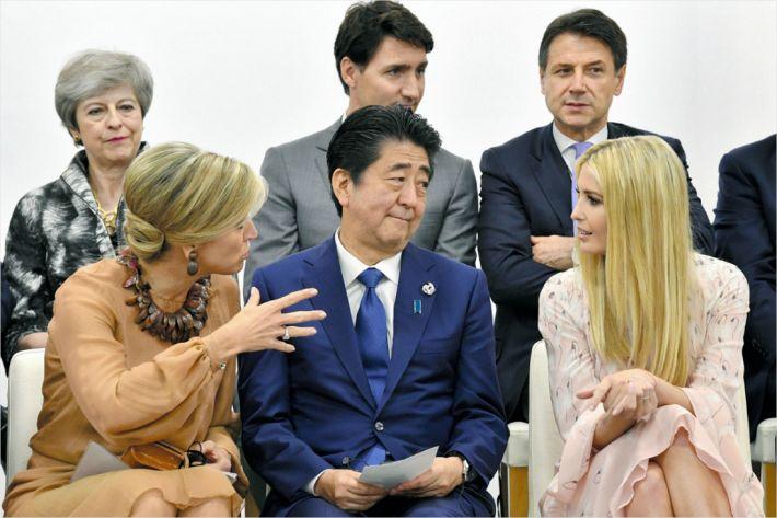 G20 불구 아베 내각 지지율 오히려 소폭 하락