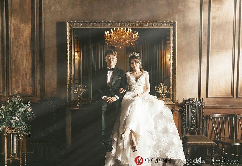 [화보] '8월 결혼' 서유리♥최병길의 행복한 미소
