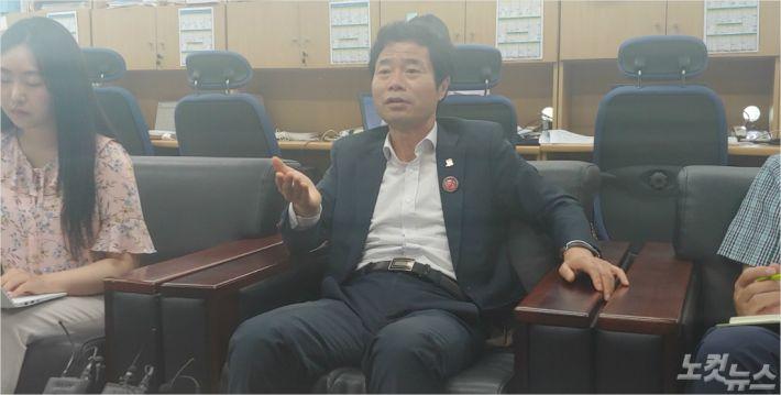 """상산고 학부모에 고발당한 김승환 """"설득력 떨어지는 주장"""""""