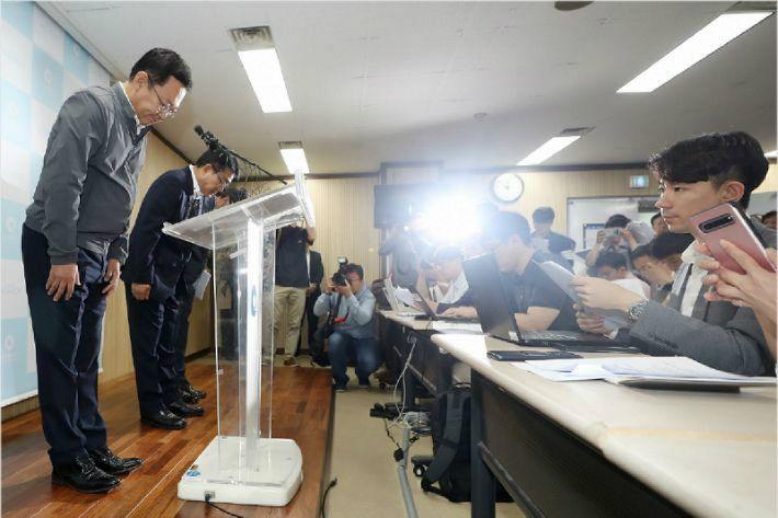 '붉은 수돗물' 인천시, 수질 정상화 선언…서구는 '아직'