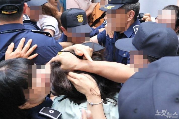 """[포토] 고유정 '우발적 범행' 주장에 검찰 """"좌시않고 책임묻겠다"""""""