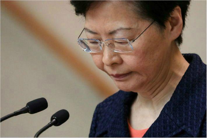 홍콩 행정수반 캐리람, 마침내 '송환법 철회' 선언하나