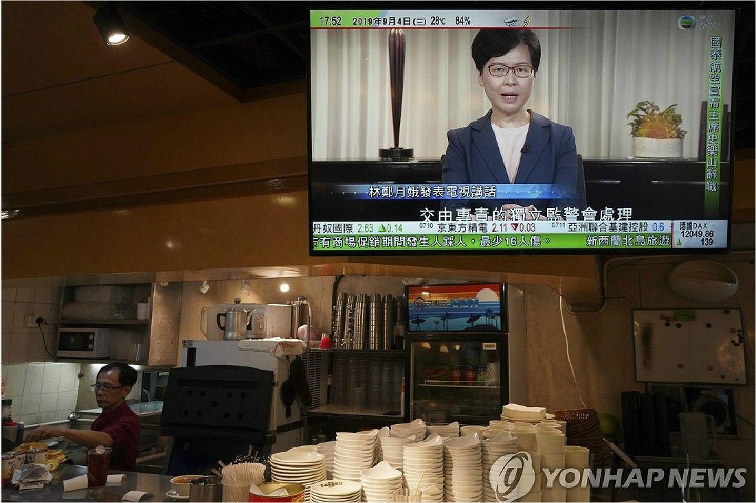 """""""홍콩 시위 핵심은 직선제..시위 계속 될것"""""""