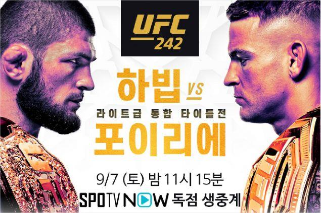 UFC 라이트급 최강자 가리자…하빕 VS 포이리에