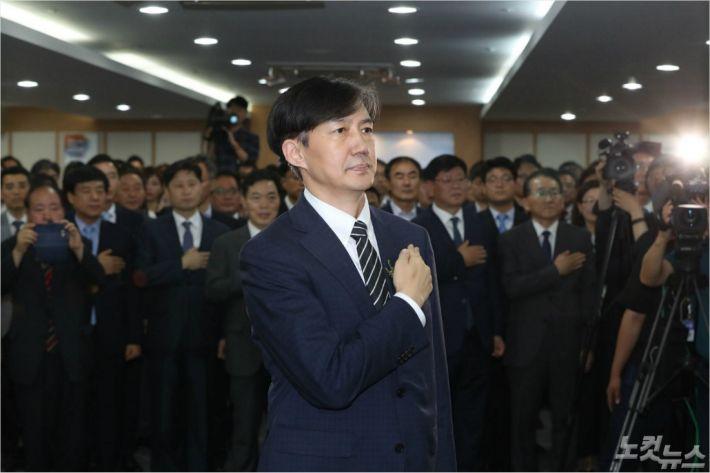 '조국펀드' 운용사 대표 영장심사…檢수사, 장관 향할까