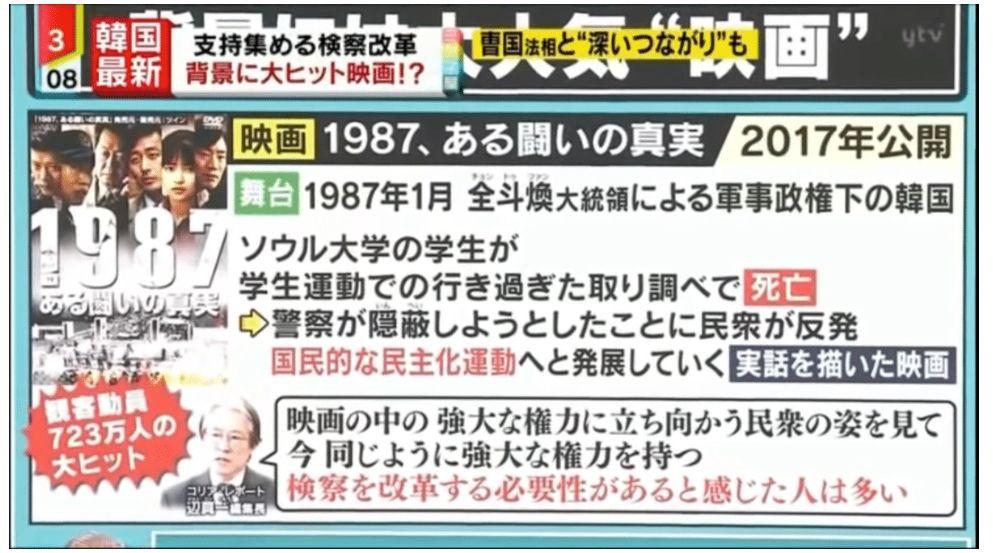 영화 1987, 文 지시로 제작?…日 가짜 혐한 보도 넘실