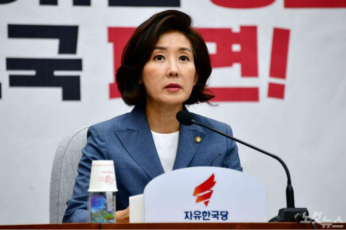 """나경원 """"금명 간 '조국 의혹' 국조요구서 제출할 것"""""""