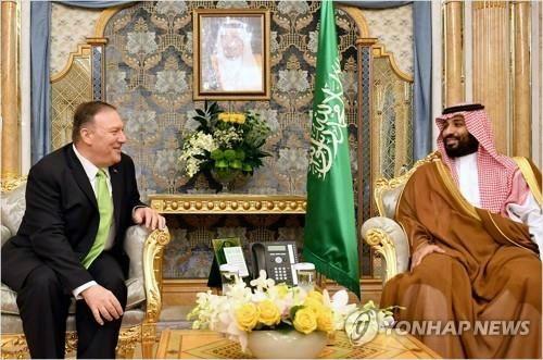 """폼페이오 """"사우디 석유시설 공격은 전쟁행위…이란이 공격"""""""
