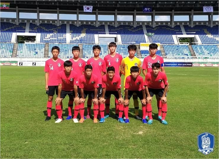 한국 축구, AFC U-16 남자챔피언십 예선서 미얀마에 진땀승