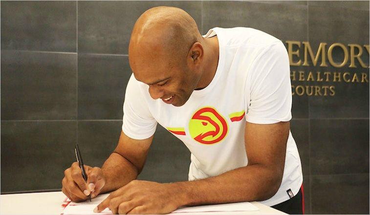 'NBA에서 22번째 시즌' 빈스 카터, 애틀랜타와 계약