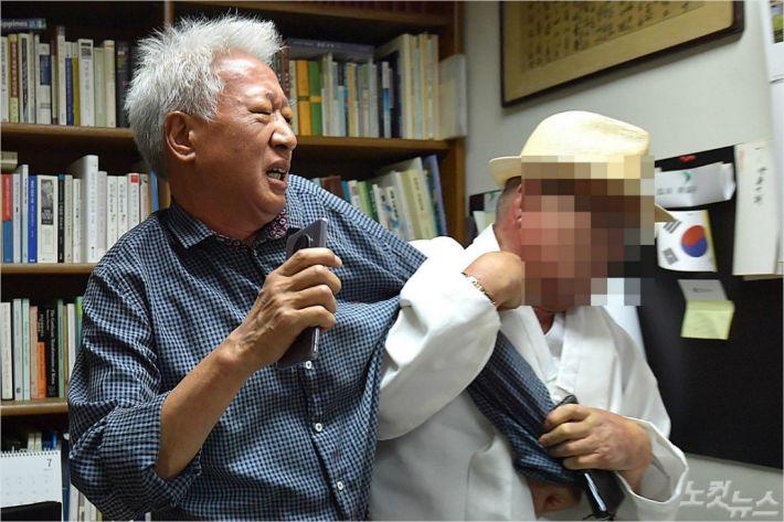 류석춘, 만류에도 수업 강행…연대 총학은 '파면 촉구'(종합)