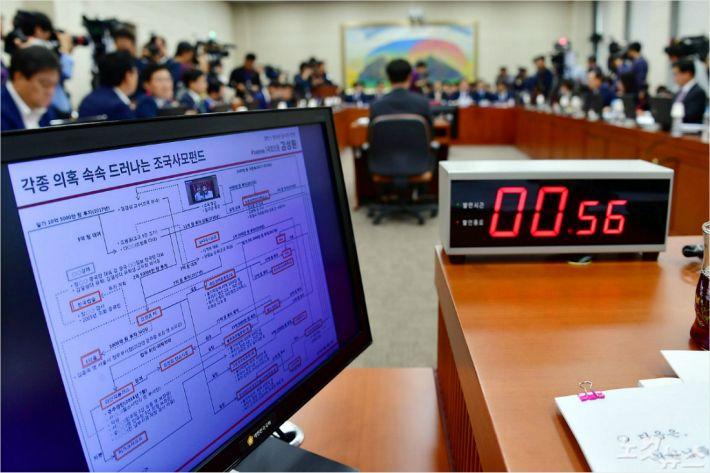 """조국 펀드 계속 논란…""""권력형 차명투자"""" VS """"단순대여"""""""