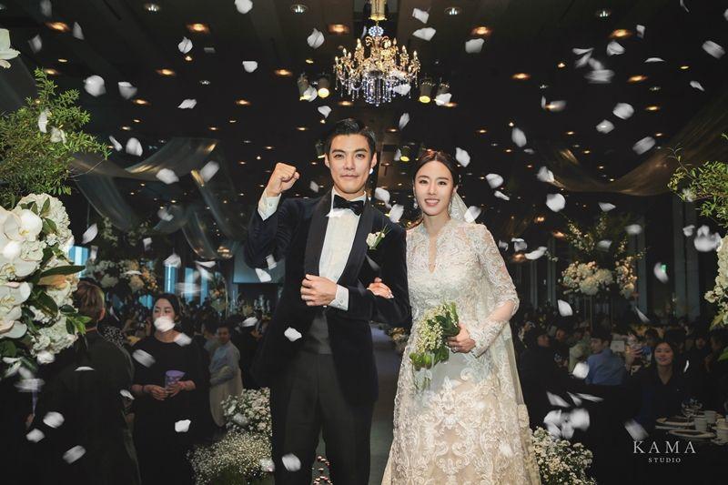 [화보] 이상화♥강남, 오늘 결혼했어요