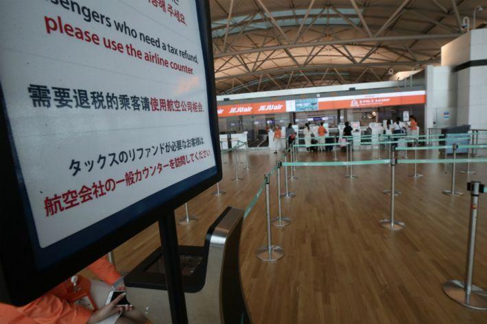 '일본 여행 불매운동'의 위력…일본 방문 한국인 58% 급감
